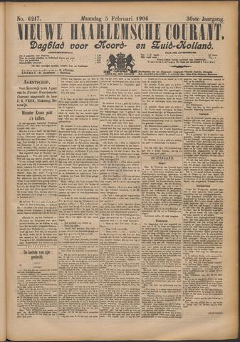 Nieuwe Haarlemsche Courant 1906-02-05