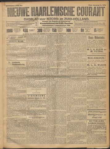 Nieuwe Haarlemsche Courant 1914-06-03