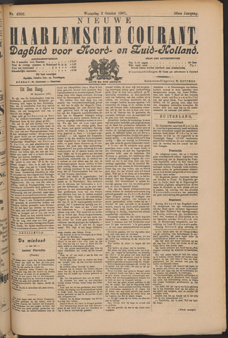 Nieuwe Haarlemsche Courant 1901-10-02