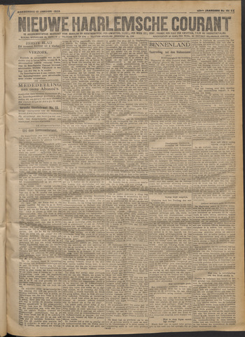 Nieuwe Haarlemsche Courant 1920-01-15