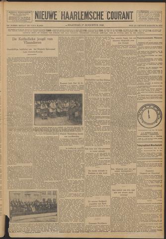 Nieuwe Haarlemsche Courant 1928-08-27