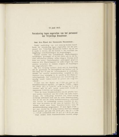 Raadsnotulen Heemstede 1913-06-12