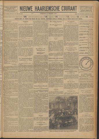 Nieuwe Haarlemsche Courant 1931-03-27