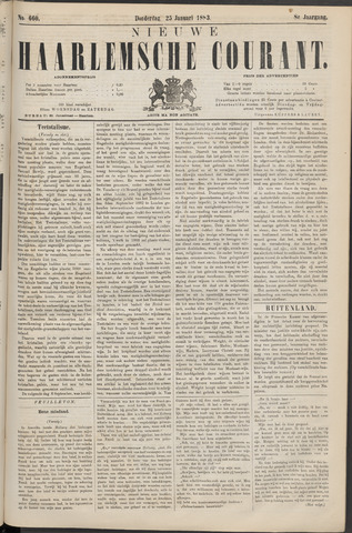 Nieuwe Haarlemsche Courant 1883-01-25