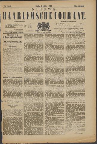 Nieuwe Haarlemsche Courant 1893-10-01