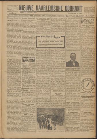 Nieuwe Haarlemsche Courant 1924-11-04