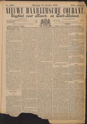 Nieuwe Haarlemsche Courant 1898-10-10