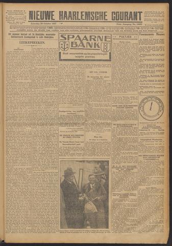 Nieuwe Haarlemsche Courant 1927-10-29