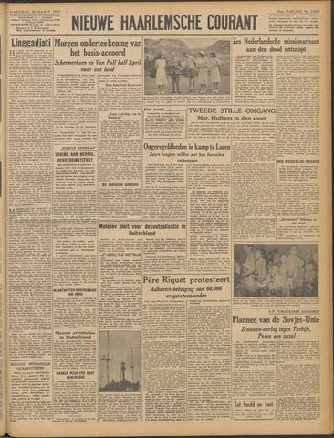 Nieuwe Haarlemsche Courant 1947-03-24