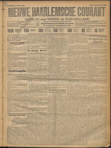 Nieuwe Haarlemsche Courant 1914-04-04