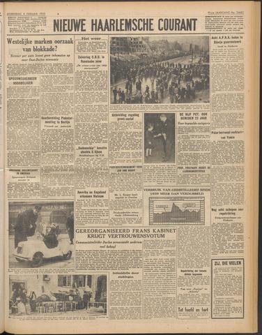 Nieuwe Haarlemsche Courant 1950-02-08