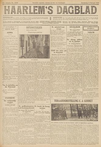 Haarlem's Dagblad 1926-02-11