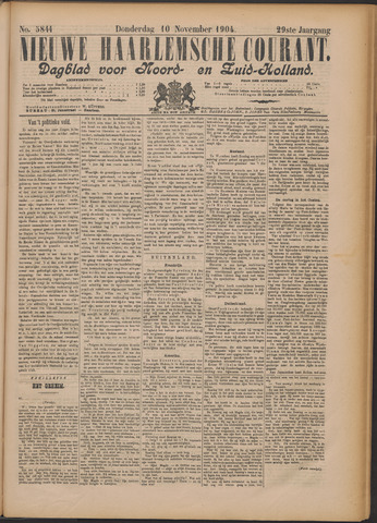 Nieuwe Haarlemsche Courant 1904-11-10