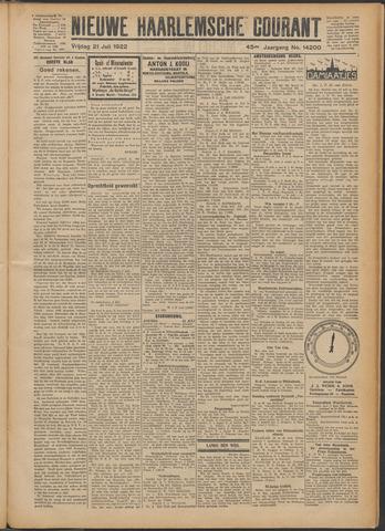 Nieuwe Haarlemsche Courant 1922-07-21