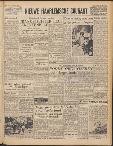 Nieuwe Haarlemsche Courant 1951-08-21