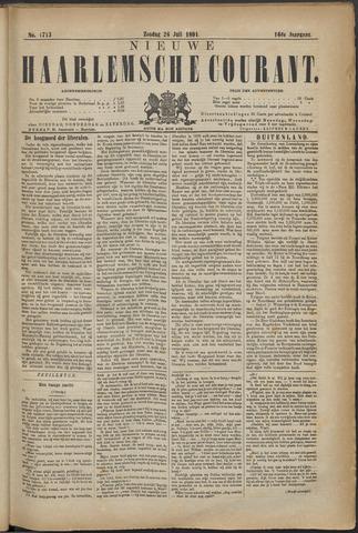 Nieuwe Haarlemsche Courant 1891-07-26