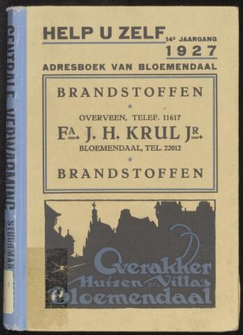 Adresboeken Bloemendaal 1927