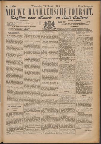 Nieuwe Haarlemsche Courant 1905-03-29