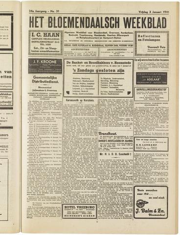Het Bloemendaalsch Weekblad 1941