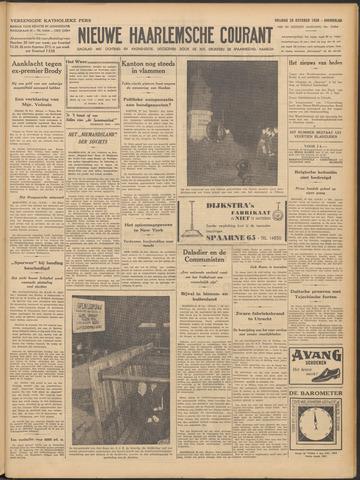 Nieuwe Haarlemsche Courant 1938-10-28