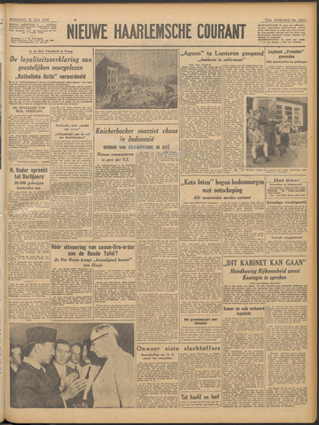 Nieuwe Haarlemsche Courant 1949-07-18