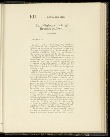 Raadsnotulen Heemstede 1928-12-20