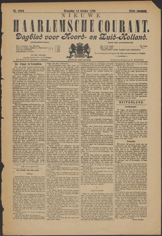 Nieuwe Haarlemsche Courant 1896-10-14