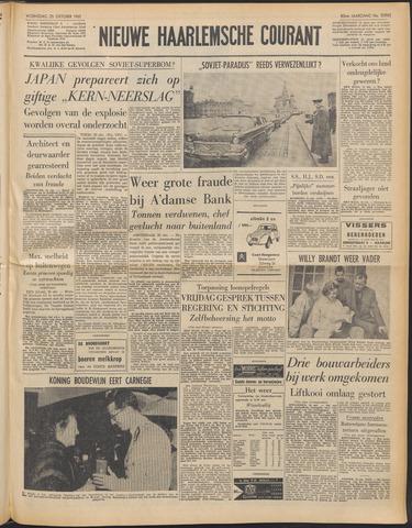 Nieuwe Haarlemsche Courant 1961-10-25