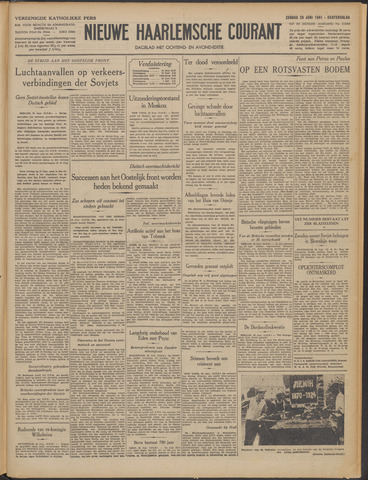 Nieuwe Haarlemsche Courant 1941-06-29