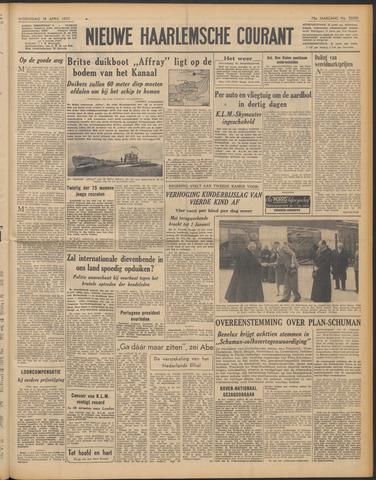 Nieuwe Haarlemsche Courant 1951-04-18