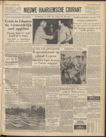 Nieuwe Haarlemsche Courant 1958-08-05