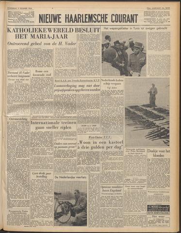 Nieuwe Haarlemsche Courant 1954-12-09