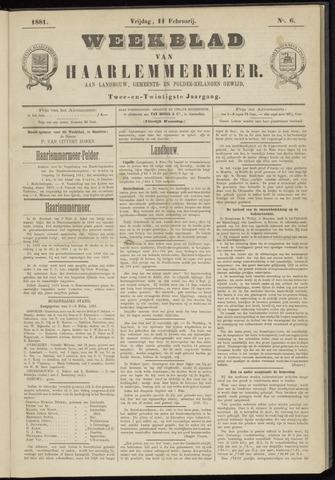 Weekblad van Haarlemmermeer 1881-02-11