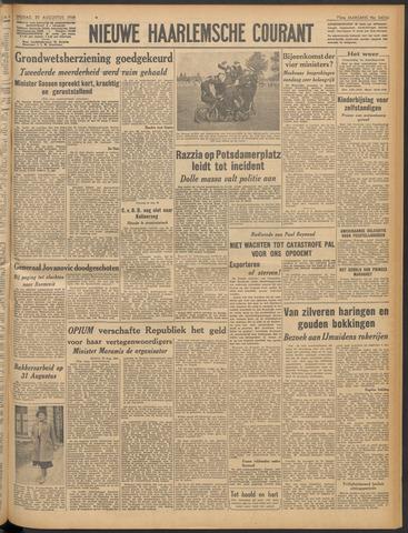 Nieuwe Haarlemsche Courant 1948-08-20