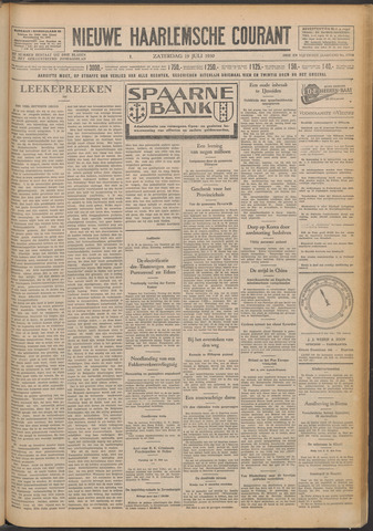 Nieuwe Haarlemsche Courant 1930-07-19