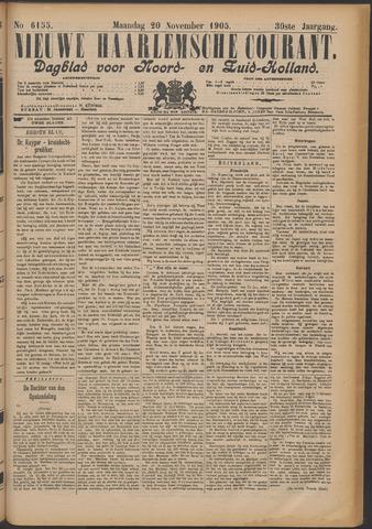 Nieuwe Haarlemsche Courant 1905-11-20