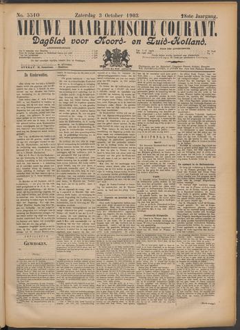 Nieuwe Haarlemsche Courant 1903-10-03