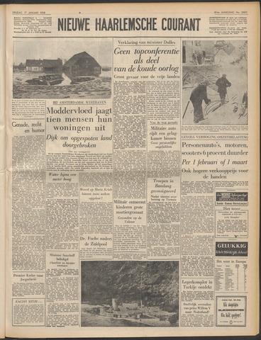 Nieuwe Haarlemsche Courant 1958-01-17