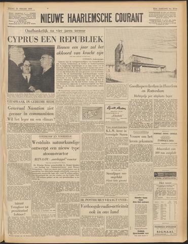 Nieuwe Haarlemsche Courant 1959-02-20