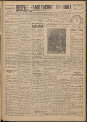 Nieuwe Haarlemsche Courant 1925-11-27