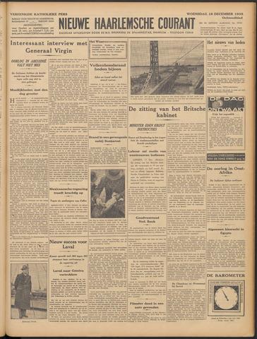 Nieuwe Haarlemsche Courant 1935-12-18