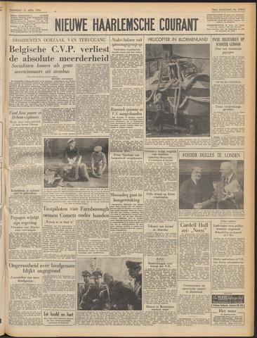 Nieuwe Haarlemsche Courant 1954-04-12