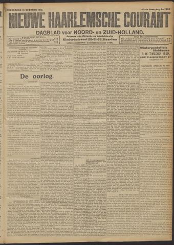 Nieuwe Haarlemsche Courant 1914-10-22