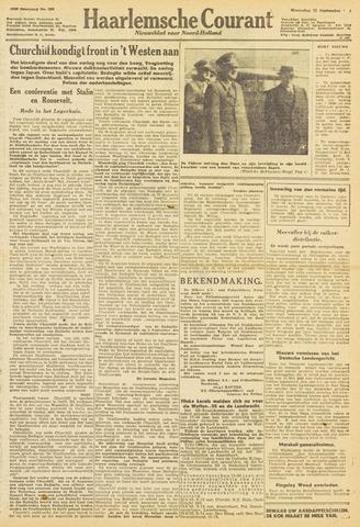 Haarlemsche Courant 1943-09-22