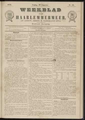 Weekblad van Haarlemmermeer 1875-08-27