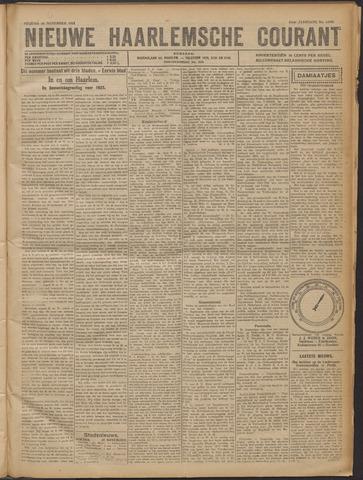 Nieuwe Haarlemsche Courant 1921-11-18