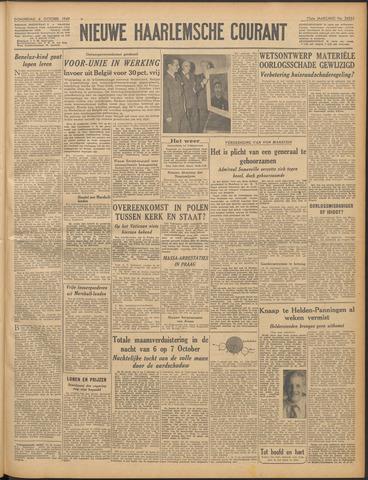 Nieuwe Haarlemsche Courant 1949-10-06