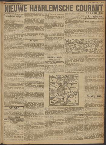 Nieuwe Haarlemsche Courant 1917-08-01