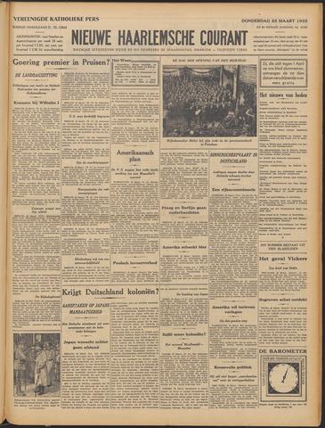 Nieuwe Haarlemsche Courant 1933-03-23
