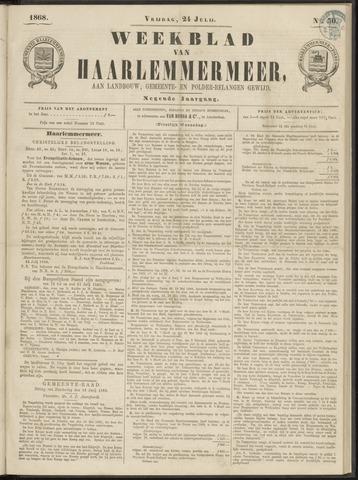 Weekblad van Haarlemmermeer 1868-07-24
